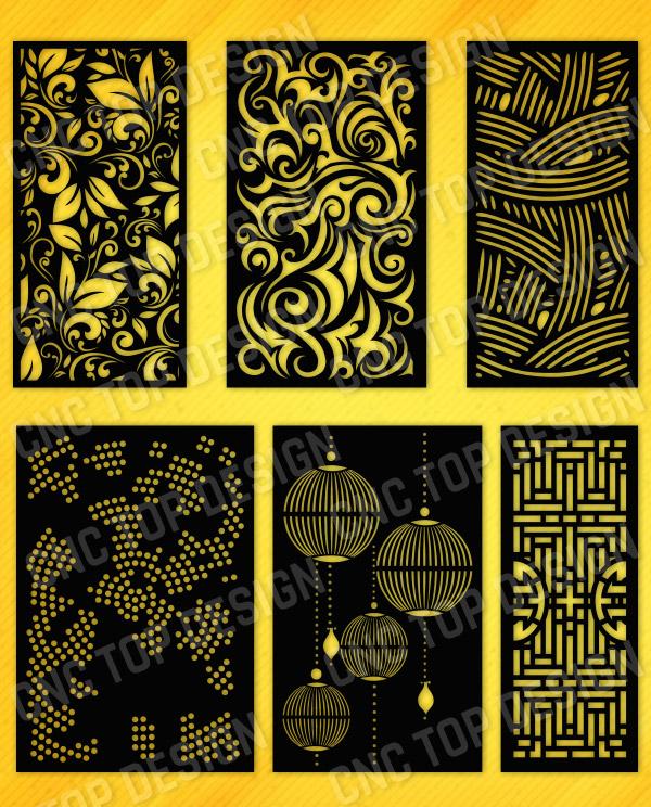 Kit 15 Panels Patterns Decorative
