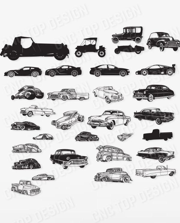 Cars Design for CNC