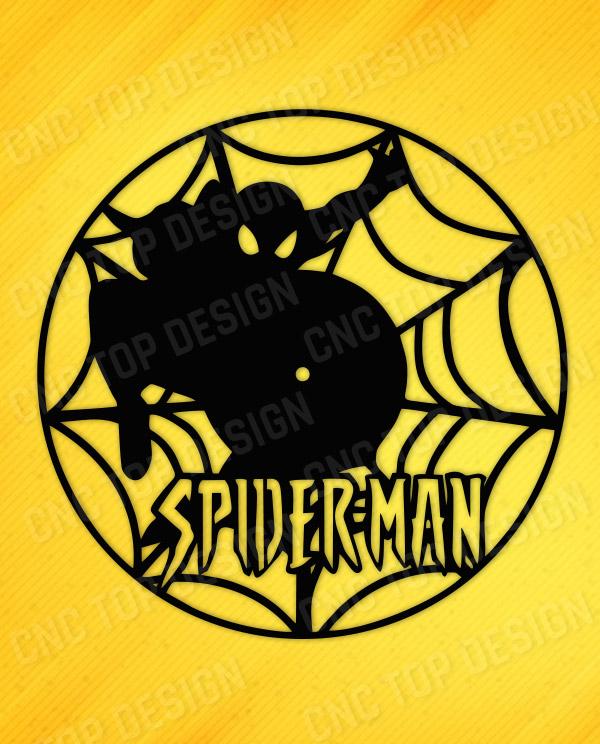 Spider-man watche design for CNC machine