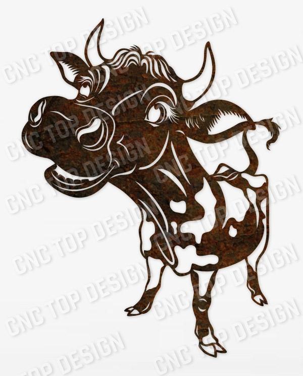 Symbol of 2021 bull design files - DXF SVG EPS AI CDR